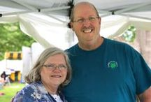 Co-op Artists Larry and Tracey Rogers