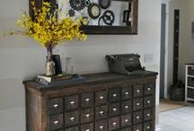 Diy Furniture and Hacks / diy storage upcycle hacks painting hardware  / by Holly