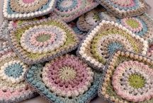 Not only for grannies - Squares, Circles & Mandalas