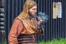Viking Life Style / Mix between old and modern Viking way of life ! Fourniture, clothes, jewllery, fashion, boats, houses, fantasy...