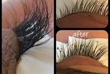 Lashes / Before&after lashes