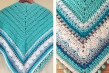 Not only for grannies - Shawls & Ponchos / Crochet shawls & ponchos