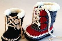 Not only for grannies - Shoes & Boots / Crochet shoes and boots