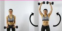 Working up a sweat - Arms & Upper Body / Arms and upper body workouts