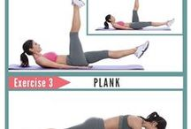 Working up a sweat - Abs & Core / Abs and core workouts