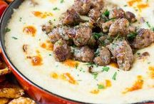 The Best DIP Recipes / Everything dips, from sweet to savory and everything in between. Spicy, hot, cheesy all of the above. Tailgating, game day and holiday dips, there's something for everyone here! 35,049 1/31/17