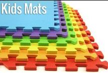 Kids Play Mats / Kids foam tiles and soft mat options for children's play areas! #kidsroom #homereno #diy