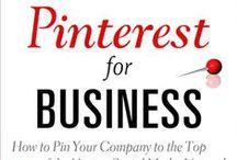 Pinterest Books / Books all about Pinterest Marketing.
