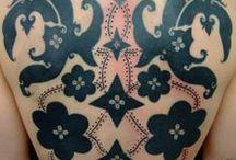 Iban/Dayak/Mentawai tattoo