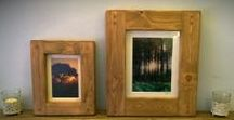 wooden picture frames handmade by Marc Wood Joinery in Somerset / our solid wooden picture frames are available on Etsy UK in standard & custom sizes, designed & handmade by Marc Wood and our small team in Somerset.  Prices from £14, we use reclaimed & eco friendly wood. UK wide courier options.