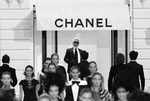 Chanel / Dress shabbily and they remember the dress; dress impeccably and they remember the woman. ~ Coco Chanel