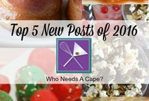The Best of Who Needs A Cape? / Posts from our site Who Needs A Cape?. Everything from desserts, main dishes, baking, slow cooker/freezer meals, and cocktails! You'll also find the occasional craft too! Loads of posts, you'll find something to make!