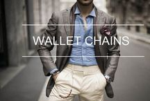 SEVEN50 wallet chains / Wallet chains