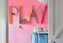 Little people places / nursery décor, kids rooms