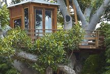 Outdoor-Treehouse/Hut