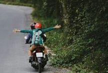 On the road / Ecápate de la rutina! Siente la libertad!