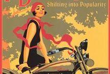 Poster / Publicidad antigua de motos