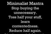 Minimalism 2 / by Dauchka22