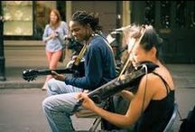 French Quarter Musicians / Our favorite local street musicians in action