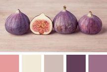 Inspiration I Nuanciers / Découvrez à travers ce tableau nos #inspirations à travers des palettes de couleurs qu'on adore !