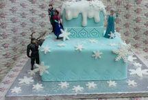 Disney frozen / Frozen cake