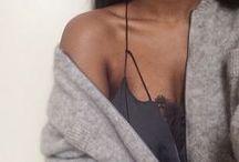 Grey / #grey #fashion #things