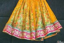 Light Lehengas / An assortment of bridal picks to celebrate your pre-wedding ceremonies.