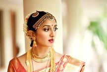 South Indian Weddings / Let's take a look at gorgeous wedding fashion inspired by South India.