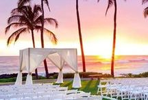 Beach Weddings / Your one-stop destination for all beach wedding inspiration.