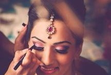 Indian Bridal Makeup / From your engagement to your post wedding rituals - this is your guide to look fabulous forever!