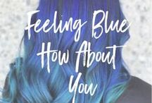 Feeling BLUE how about YOU? / PRAVANA's Award Winning VIVIDS Collection is the creative color category leader. ChromaSilk VIVIDS impart long-lasting, rich creative color with brilliant shine. With more than 25 inter-mixable shades to choose from, the VIVIDS Collection offers stylists complete creative control with an infinite color palette. #theresonlyone