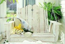 Inspiration... Outdoor Living Areas: Gazebo, Porch, and Sunroom / ~ Making pretty the place where we sit and relax ~