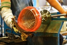 Glass Blowing / Glass is an intriguing medium. Here we collect hand-blown glass art we love!
