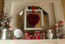 February Decor / by Raymie White