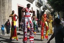 Travels in Cuba / The trip was a people to people exchange meeting and sharing with Afro Cuban musicians, artists, dancers. The trip was organized by the Afro Latin Jazz Alliance (ALJA) and Plaza Cuba