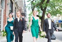 What to Wear: Bride, Groom & Co. / From the bride to the dearest guests of a wedding, choosing the perfect outfit is always a challenge. We have tips for the whole guest list!