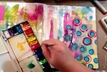 ART: art journaling / so many beautiful things to create!