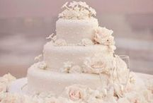 Save Room for Dessert / We all always wait for the wedding finale...the wedding cake! Different flavors & different looks, we have room for all.