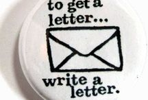LIFE: letter writing