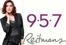 Reitmans 9•5•7 / With Reitmans' 9-5-7 Collection, you can work your 9 to 5 attire into your 5 to 7 happy hour! Avec la nouvelle Collection 9-5-7 de Reitmans, passez du 9 à 5 au 5 à 7 simplement et avec style! #Reitmans957  / by Reitmans