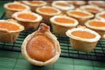 FOOD: pumpkin & autumn delights / I'm a little obsessed with pumpkin-flavored foods and fall foods. If it is considered an Autumn or Halloween treat or belongs on a Thanksgiving dinner table, it goes on this pinboard!