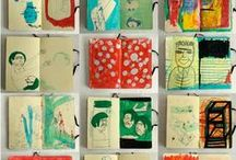 | journals and art books | / by manda townsend
