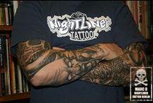 Marc D. Tattoogalerie / 62 Tätowierungen von Marc D. (Nightliner Tattoo Berlin) im Zeitraum von 2001 bis 2011