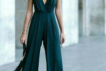 Jumpsuits / It's all about Jumpsuit style! #jumpsuits #fashion #style #runways