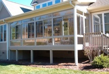 Sunrooms, Screen Rooms And Porch Enclosures / Enjoy The Beautiful Look Of  These Sunrooms,