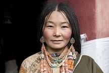 La perle d'ambre - les montagnards / Les montagnards sont un peuple voisin des Liliens, mais vivant dans les hautes montagnes d'Humi.