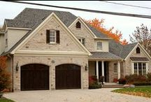 Stone Facing, Stone Veneer, Brick Veneer / Stone Siding, #Stone Veneer, #Brick Siding, Brick Veneer, and #Stucco provide homeowners with the distinct look that adds grace, beauty, elegance, and aesthetic value to your home.  Working with our professionals, Tri County Exteriors will ensure that you receive quality craftsmanship that lasts.  #HomeImprovement