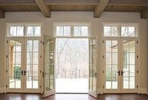 Home Renovation Windows & Doors / The openings of a home are simple to change and upgrade with the right help to provide an aesthetic advantage to functionality. If you've always dreamed of big bay windows and upscale french doors, our professionals are ready to give you a free consultation to start the transformation. #HomeImprovement