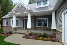 Home Renovation: Siding / TriCounty Exteriors offers the widest variety of high quality exterior siding products in the area today. We specialize in brick siding, vinyl siding, and stone siding. Looking for a quality siding contractor, contact TriCounty Exteriors today. #HomeImprovement http://tricountyexteriors.com/