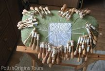 Bobbin Lace Workshop & Tour / Our proposal is dedicated to those lovers of traditional handicraft. Bobbin Lace making has been fading away, even here in Poland. So we are trying to keep this old art alive.  During a six day workshop (23 hours), we want to teach you the basics of Bobbin Lace making. You will be taught by a master in the field, from one of the most important centers of this art, the town of Bobowa.  http://polishorigins.com/document/bobbin_laces